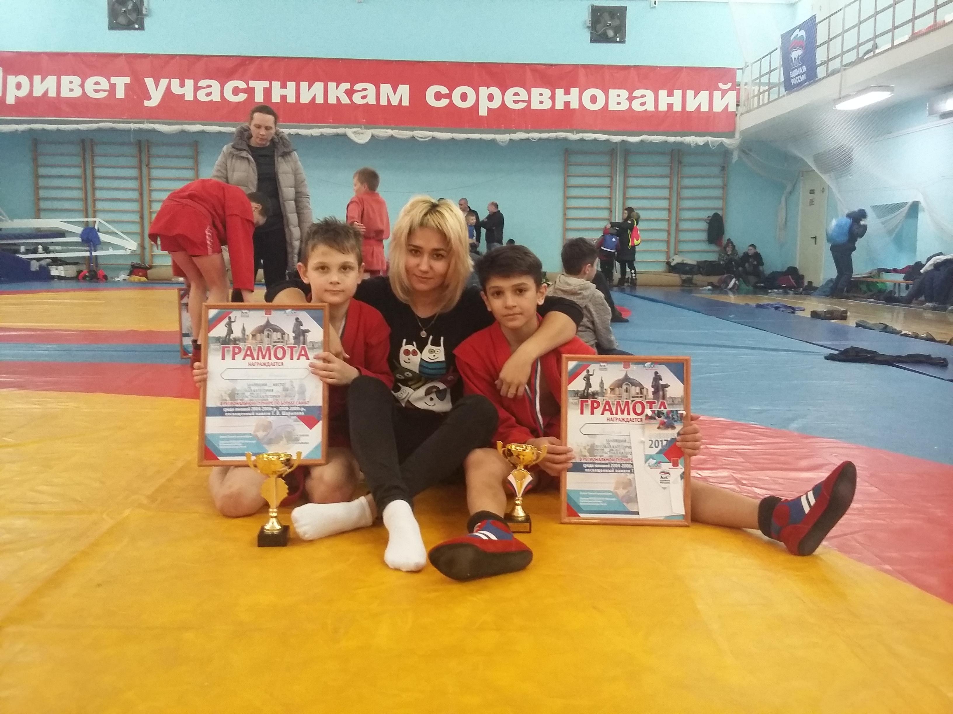 Региональный турнир по борьбе самбо памяти Т.В. Шарыпова.