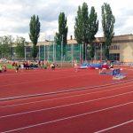 Валерия Панина на первом этапе первенства г. Москвы по легкой атлетике