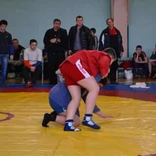 Первенство Тульской области по борьбе самбо среди юношей 2006-2008 года рождения