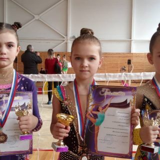 Открытый турнир по художественной гимнастике «Весенние звездочки»