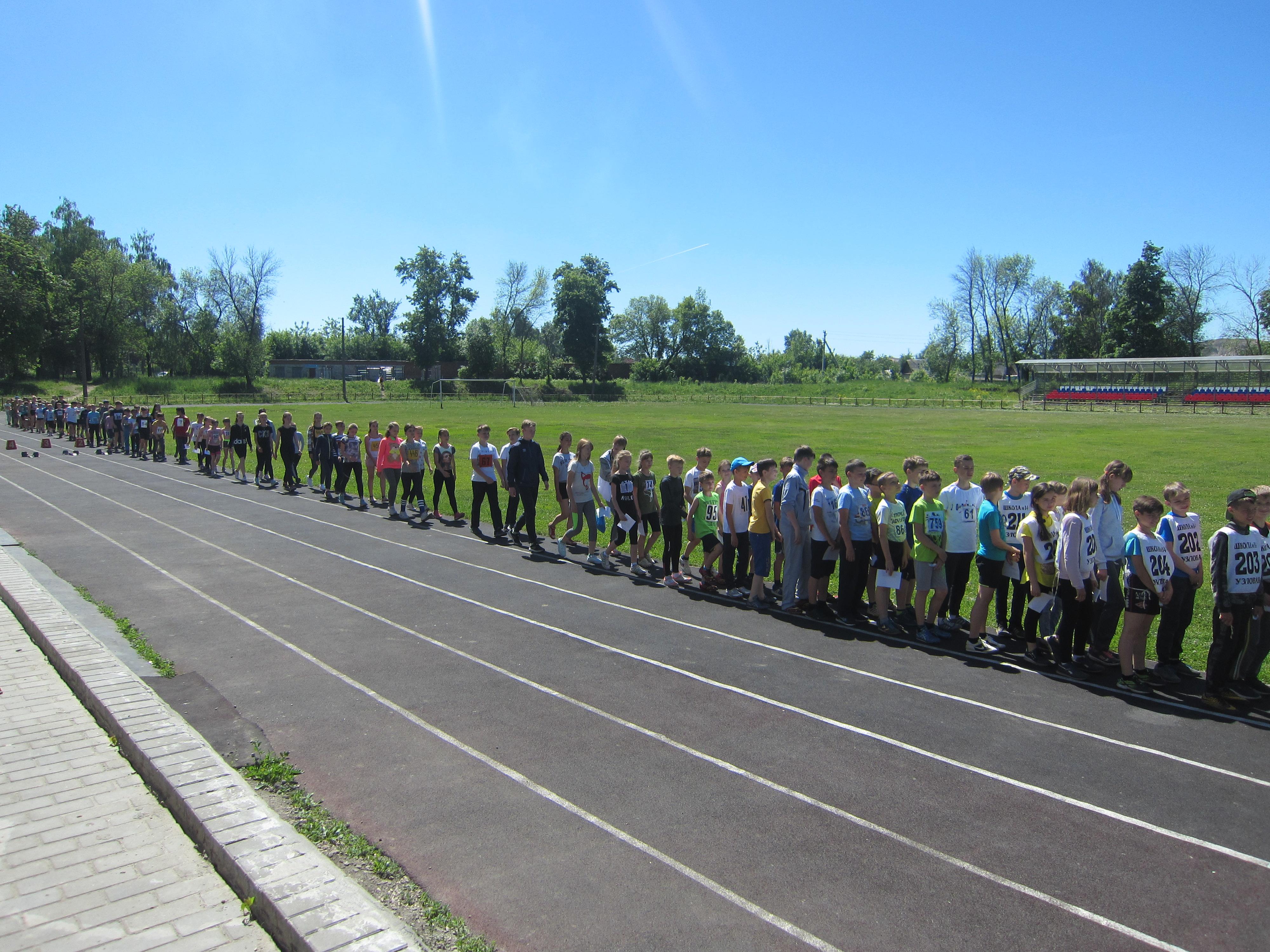 Открытое первенство ДЮСШ по легкоатлетическому двоеборью среди обучающихся