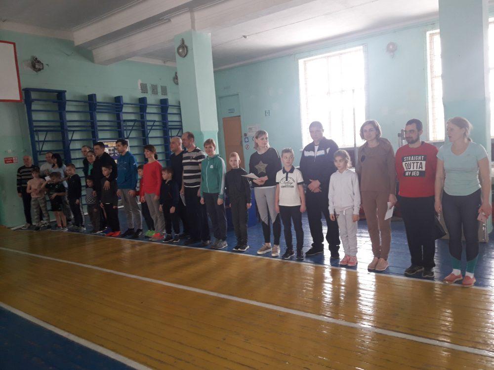 Муниципальный этап зимнего Фестиваля ВФСК   ГТО среди семейных команд в г. Алексине