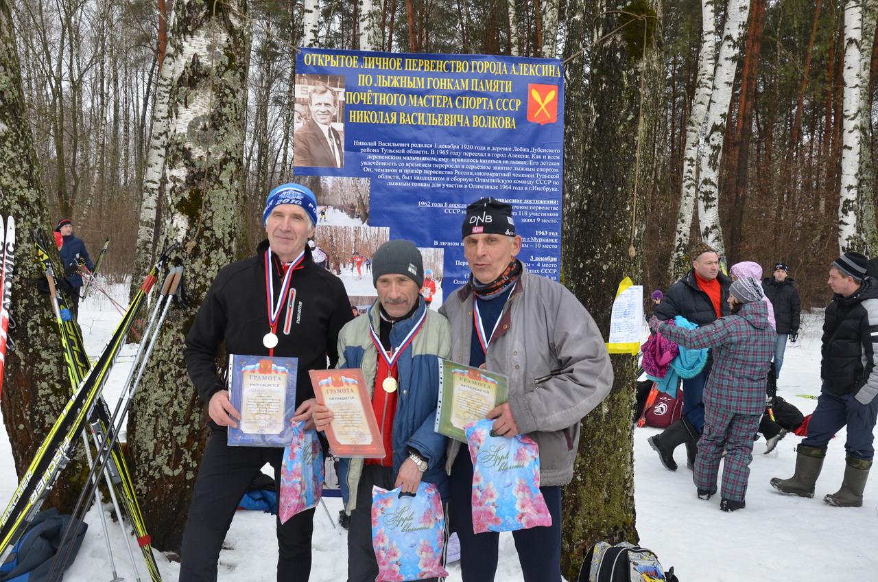 Протокол открытого личного первенства города Алексина по лыжным гонкам памяти Почётного мастера спорта СССР Н.В. Волкова (отчет)