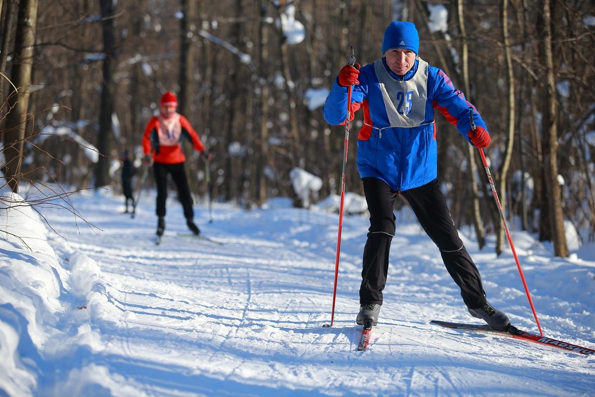 Первенство МБУ ДО «ДЮСШ «Горизонт» по лыжным гонкам  «Весенний марафон»