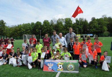 Футболисты ДЮСШ № 3 «Атлет» приняли участие в дне массового футбола на Косой Горе