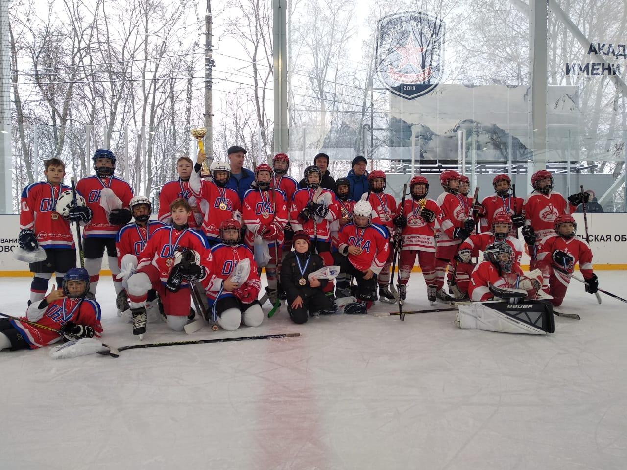 Турнир по хоккею на кубок Федерации хоккея Тульской области