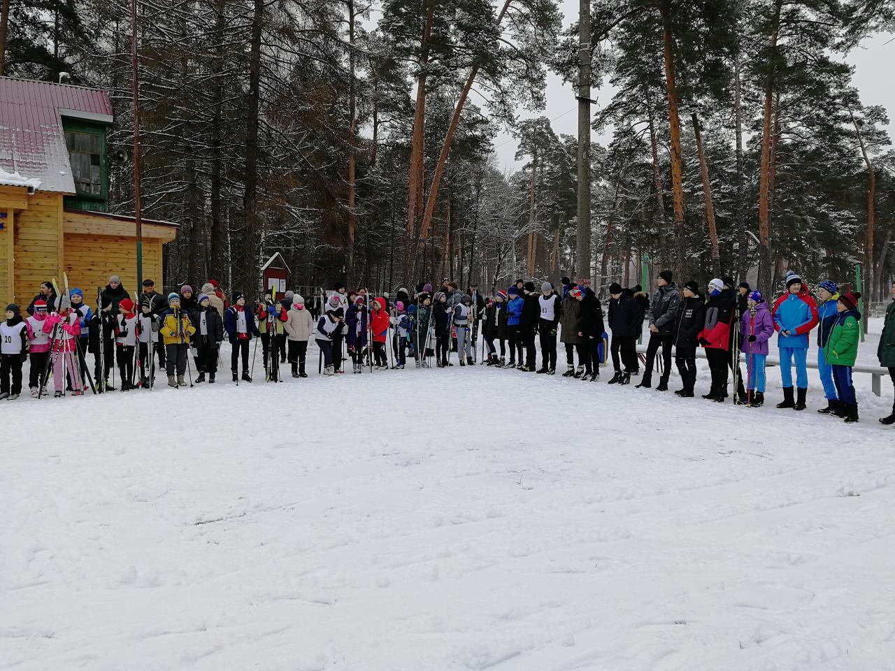 Первенство МБУ ДО «ДЮСШ «Горизонт» по лыжным гонкам 1 февраля 2020