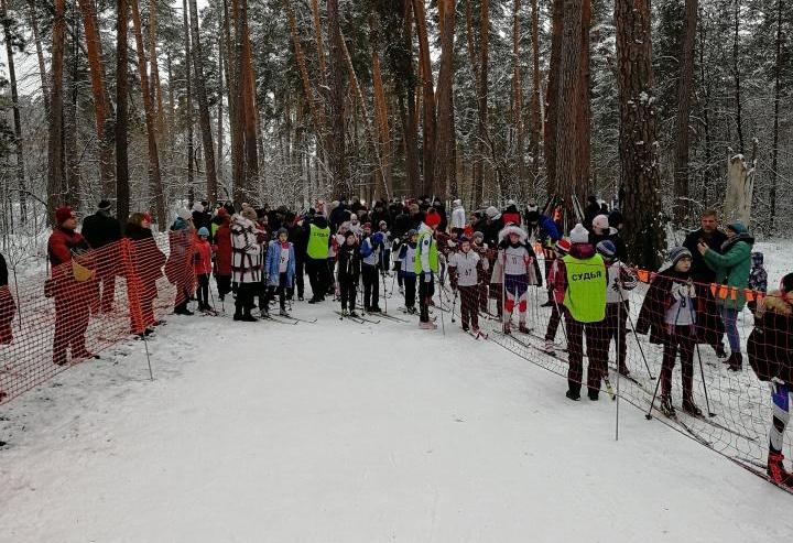 Открытое первенство города Алексин по лыжным гонкам, посвященное 75-летию победы в Великой Отечественной войне 2 февраля 2020