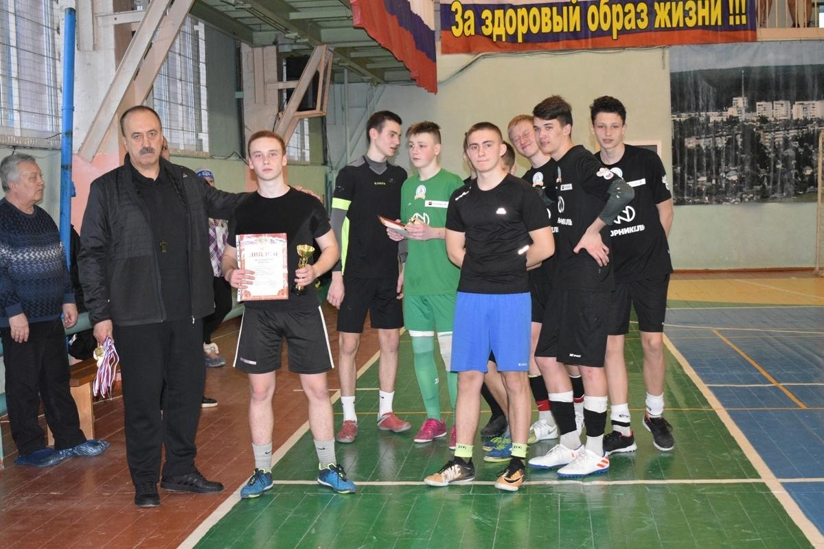 Первенство города Алексина по мини-футболу среди юношей общеобразовательных школ