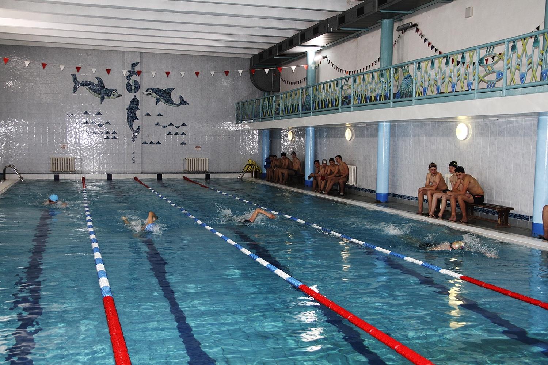 Первенство Алексина по плаванию в плавательном «Спортивного центра «Возрождение»