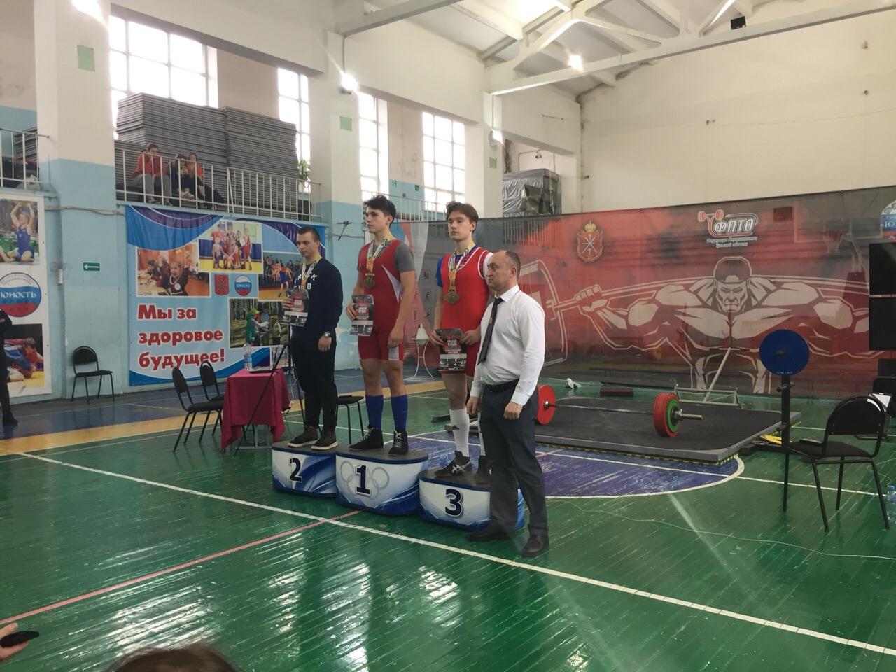Кубок Тульской области по жиму классическому и  становой тяге 23 февраля