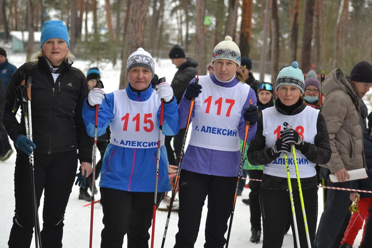 Фотоотчет. Открытое личное первенство Алексина по лыжным гонкам памяти Б.Е Курбатова и Н.В. Волкова