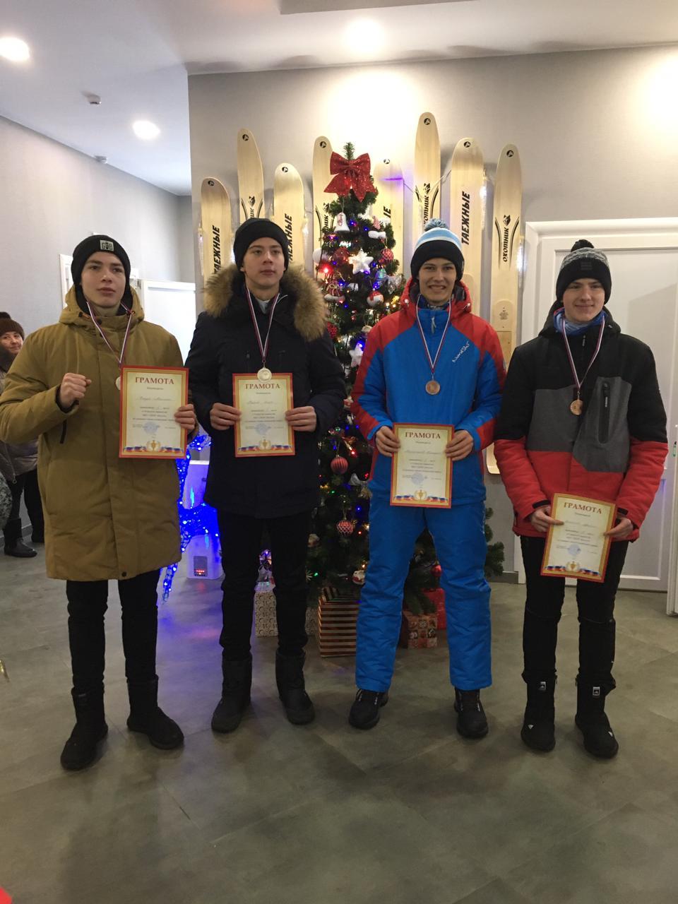 Выступления лыжников МБУ ДО «ДЮСШ «Горизонт»